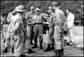Antônio Carlos Muricy comanda o destacamento Tiradentes na marcha Juiz de Fora (31 março 1964).